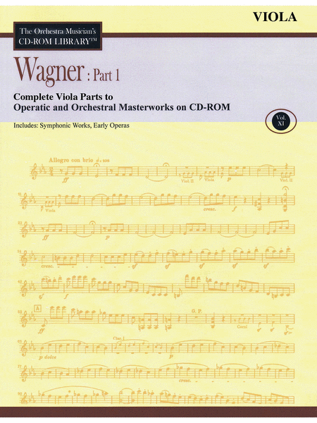 Wagner: Part 1 - Volume 11