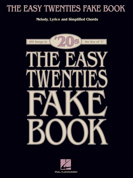 The Easy Twenties Fake Book