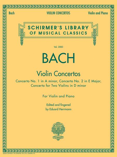 Bach - Violin Concertos