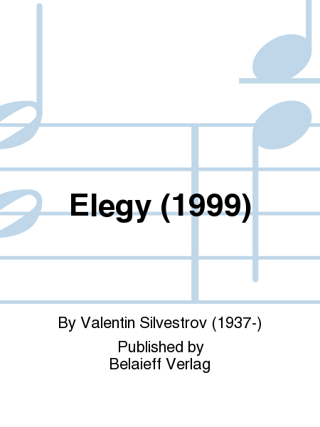 Elegy (1999)