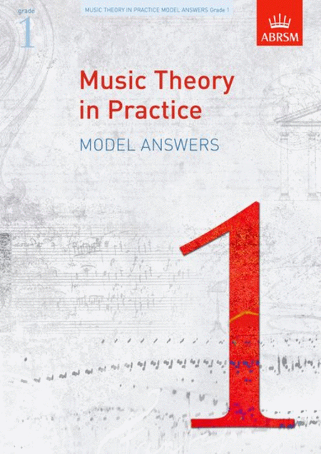 Music Theory in Practice Answers - Grade 1
