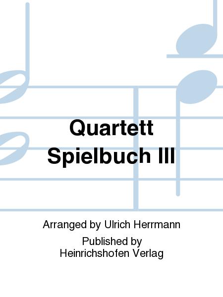 Quartett Spielbuch III