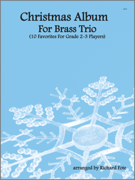 Christmas Album For Brass Trio