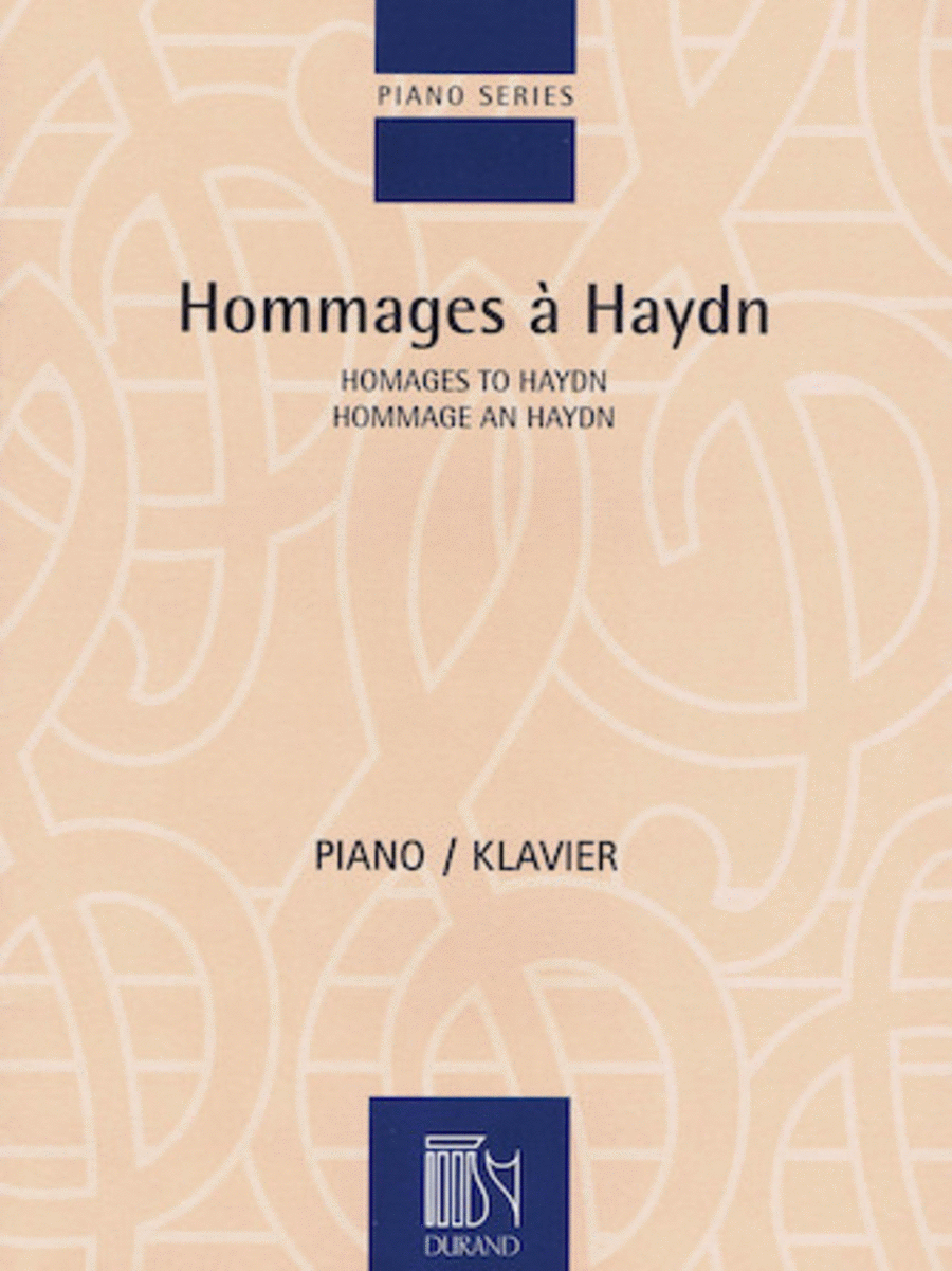 Homages to Haydn
