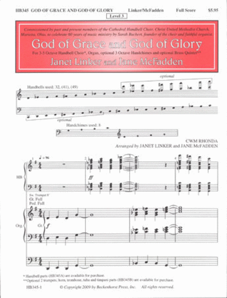 God of Grace (Score)