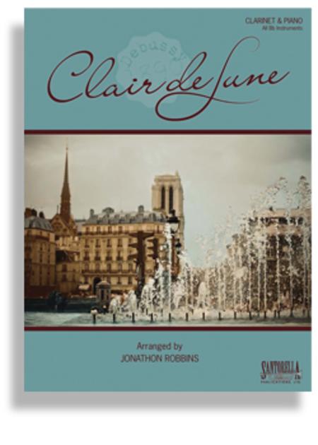 Claire de Lune (Clarinet & Piano)