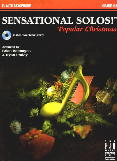 Sensational Solos! Popular Christmas, E-flat Alto Saxophone
