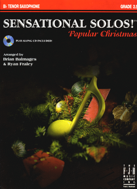 Sensational Solos! Popular Christmas, B-flat Tenor Saxophone