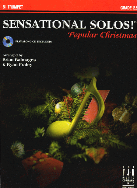 Sensational Solos! Popular Christmas, B-flat Trumpet