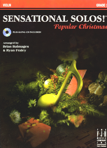 Sensational Solos! Popular Christmas, Violin
