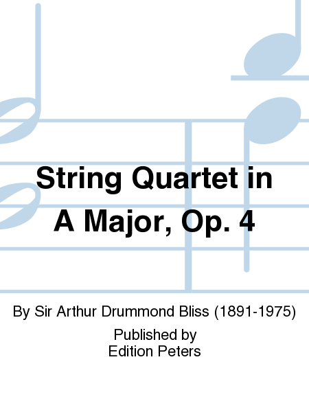 String Quartet in A Major, Op. 4