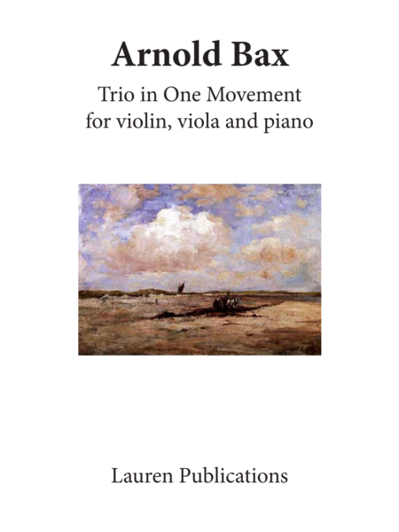 Trio in One Movement, Op. 4