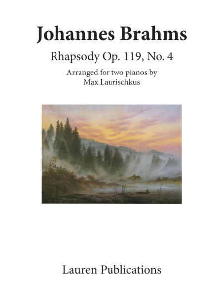 Rhapsody Op. 119 No. 4