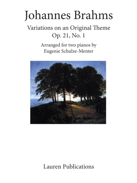 Variations on an Original Theme Op. 21, No. 1
