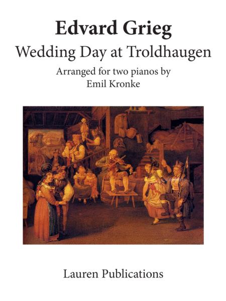 Wedding Day at Troldhaugen