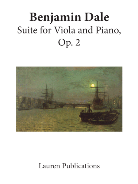 Suite for Viola and Piano Op. 2