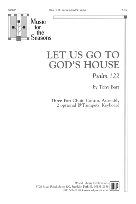 Let Us Go to God's House