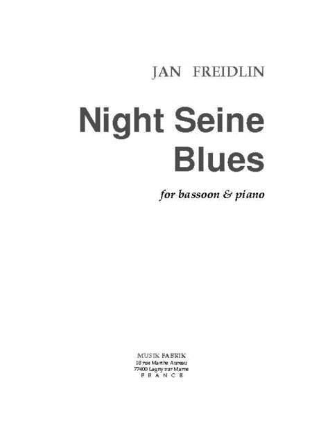 Night Seine Blues
