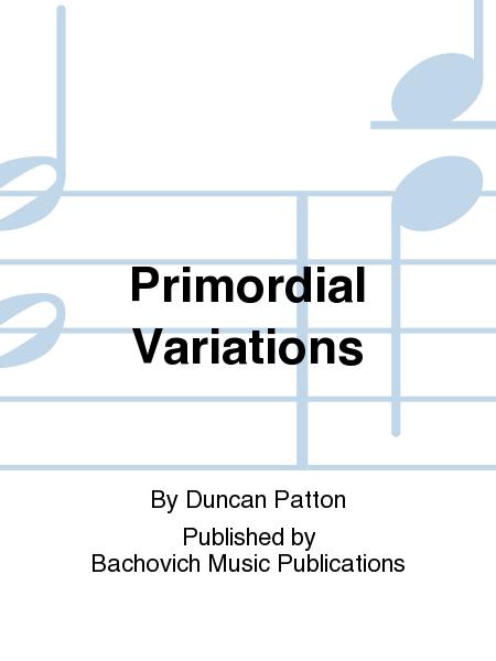 Primordial Variations