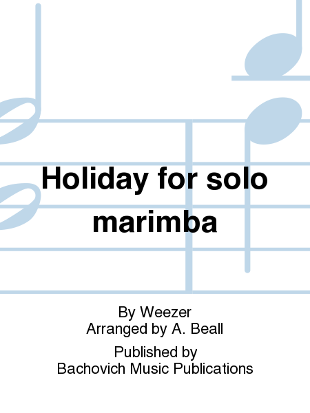 Holiday for solo marimba