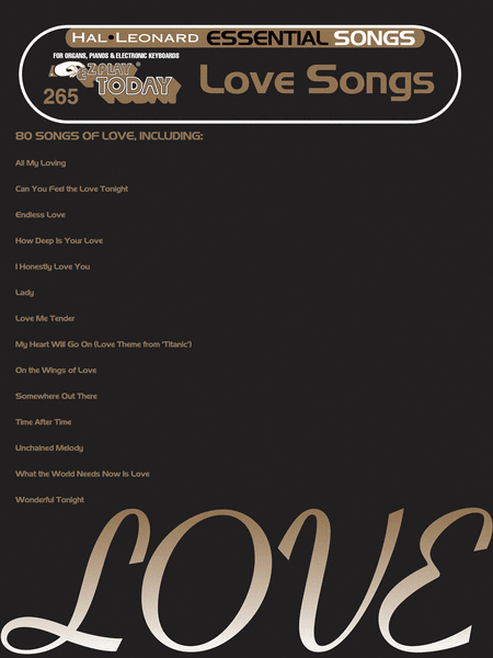 Essential Love Songs