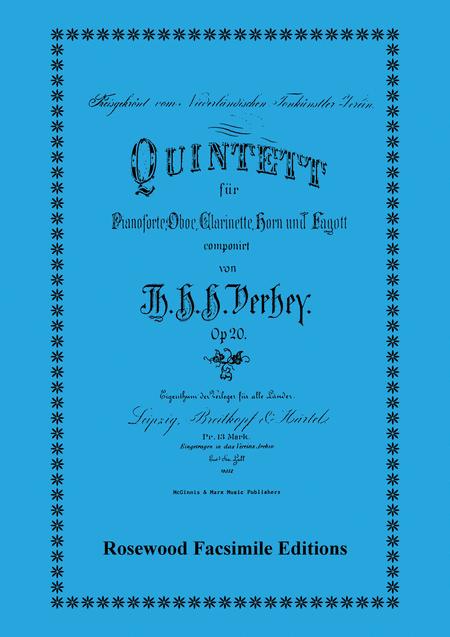 Quintet, Op. 20