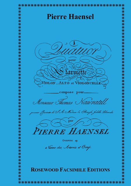 Quartet, Op. 19