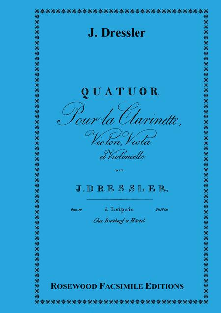 Quartet in A, Op. 10