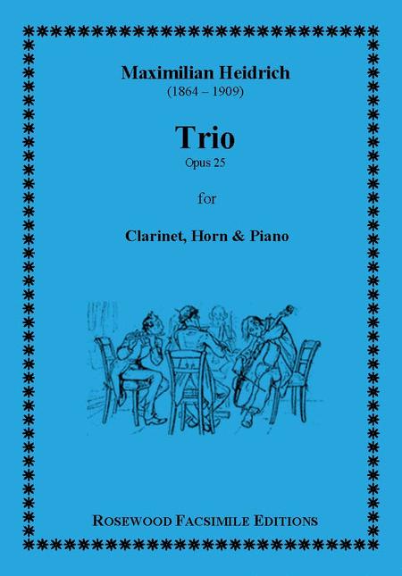 Trio, Op. 25