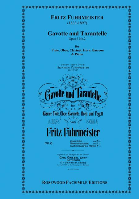 Gavotte & Tarantelle