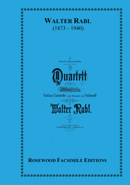 Quartet, Op. 1