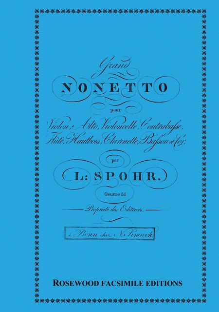 Nonet in F, Op. 31