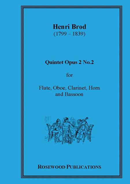 Wind Quintet, Op. 2, No. 2