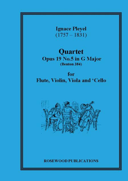 Quartet, Op. 19/5