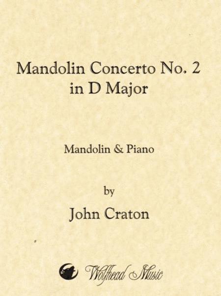 Mandolin Concerto No. 2 in D Major