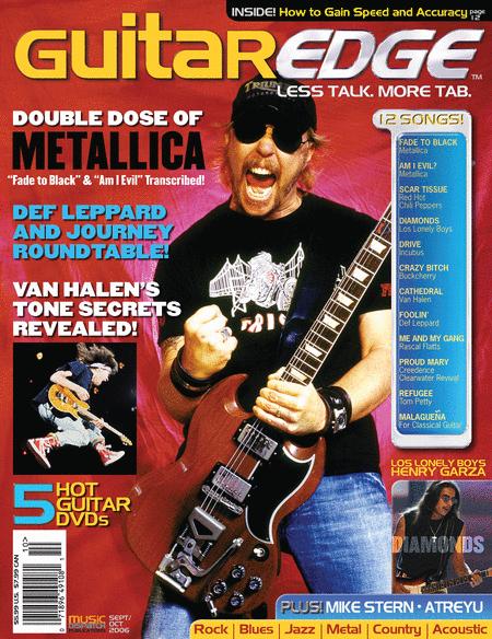 Guitar Edge Magazine Back Issue - September/October 2006