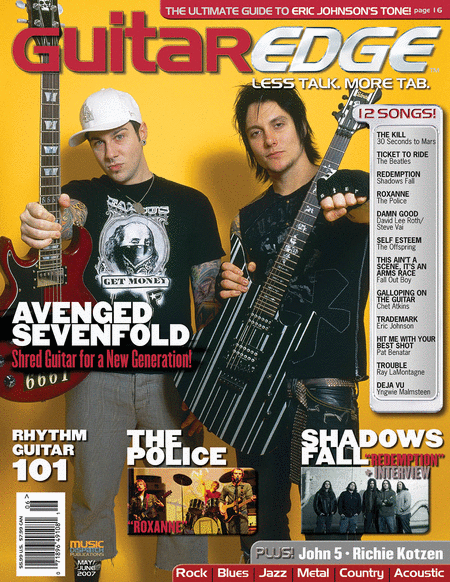 Guitar Edge Magazine Back Issue - May/June 2007
