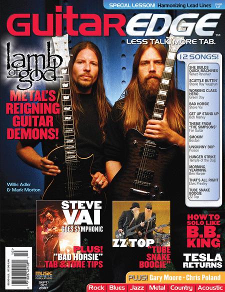Guitar Edge Magazine Back Issue - Sept/Oct 2007