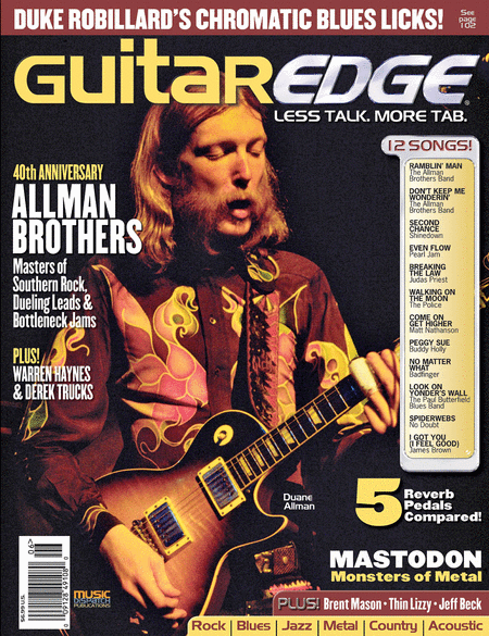 Guitar Edge Magazine Back Issue - May/June 2009