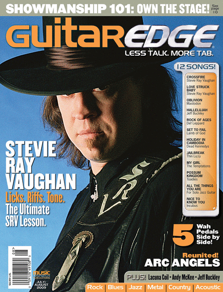 Guitar Edge Magazine Back Issue - July/August 2009
