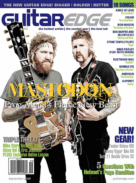 Guitar Edge Magazine Back Issue - September/October 2009