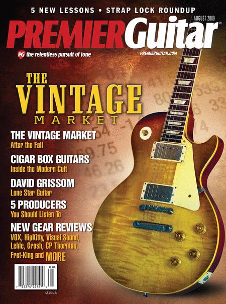 Premier Guitar Magazine Back Issue - August 2009
