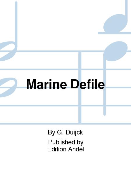 Marine Defile