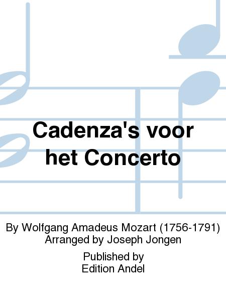 Cadenza's voor het Concerto
