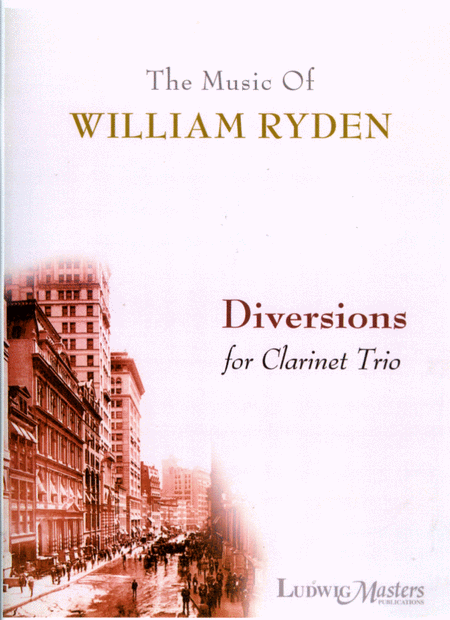 Diversions for Clarinet Trio