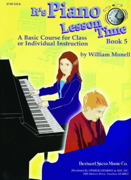 It's Piano Lesson Time Book 5