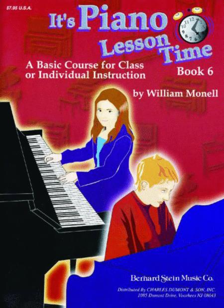 It's Piano Lesson Time Book 6