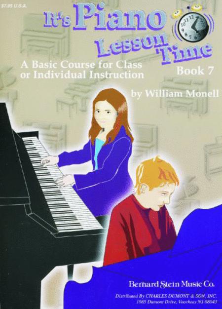 It's Piano Lesson Time Book 7