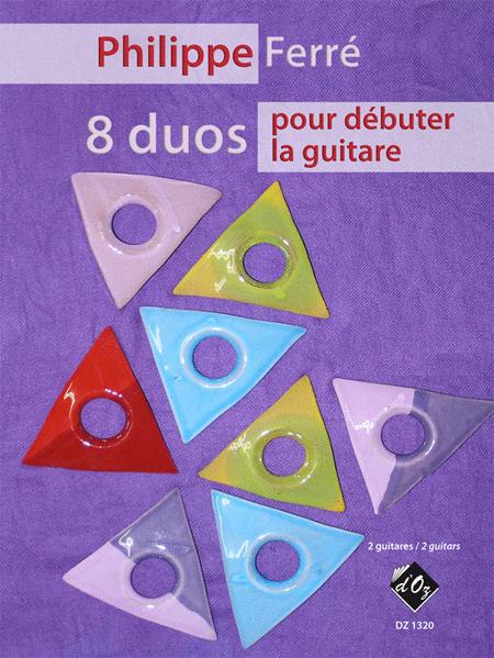 8 duos pour debuter la guitare