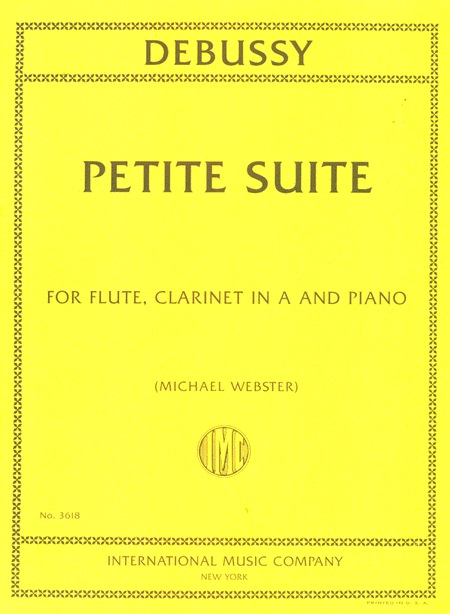 Petite Suite for Flute, Clarinet in A and Piano
